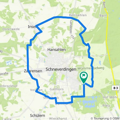 D - Schneverdingen - Rund um Schneverdingen - 23 km