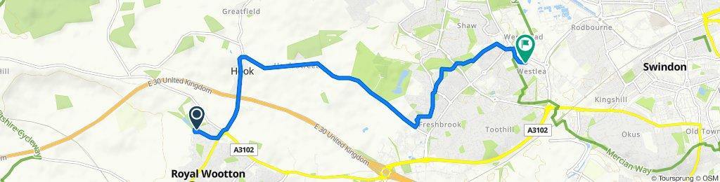 Easy ride in Swindon