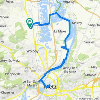 De 27 Rue de Sainte-Anne, Norroy-le-Veneur à 27 Rue de Sainte-Anne, Norroy-le-Veneur