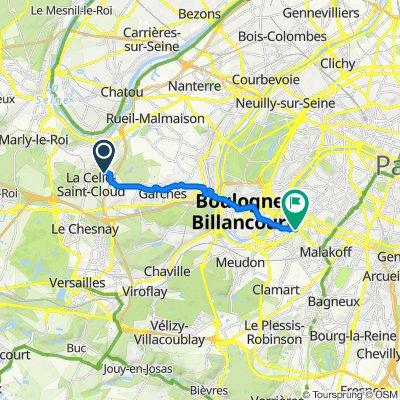 De 100 Résidence Sainte-Claire, La Celle-Saint-Cloud à 5 Rue Vaudétard, Issy-les-Moulineaux
