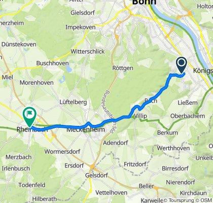 Peter-Schwingen-Straße 4, Bonn nach Vor dem Dreeser Tor 20, Rheinbach