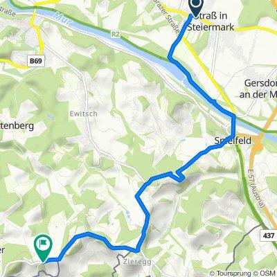 Hauptstraße 56d, Straß in Steiermark nach Ottenberg 39a, Ehrenhausen an der Weinstraße