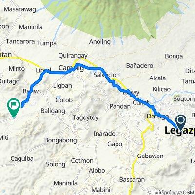 Legazpi City-Punta De Jesus Road, Legazpi City to Bariw-Palanog Road, Camalig