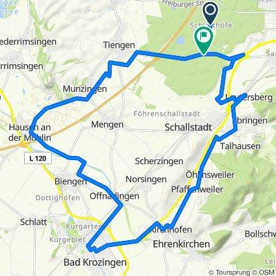 Schlatthof nach Bad Krozingen