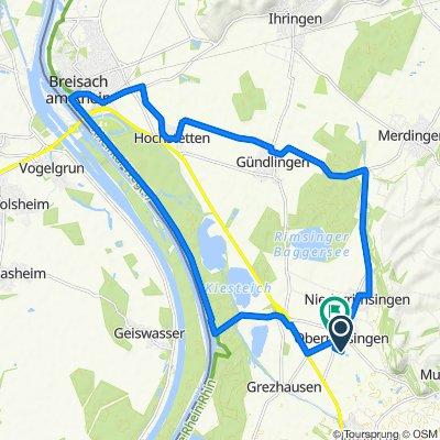 Oberrimsingen nach Breisach (Rhein)
