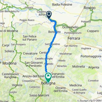 Da Via 25 Aprile 27, Felonica a Piazza della Mercanzia 6/A–6/E, Bologna