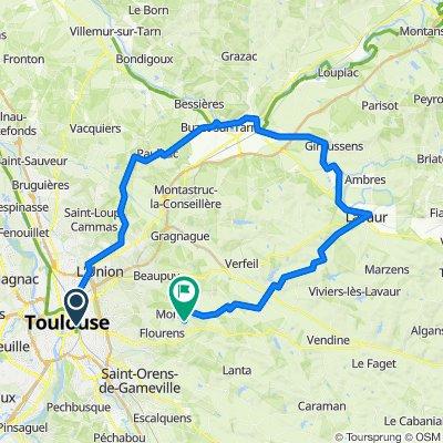 Toulouse - Saint-Sulpice - Lavaur - Mons