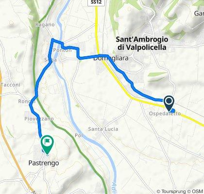Via Ospedaletto 57, Ospedaletto to Via Fontane 6, Pastrengo