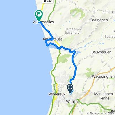 Rustgevende route in