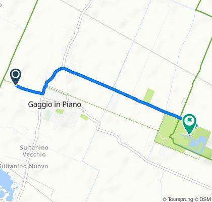 Da Via Centra 3, Gaggio a Via Prati 50, Castelfranco Emilia