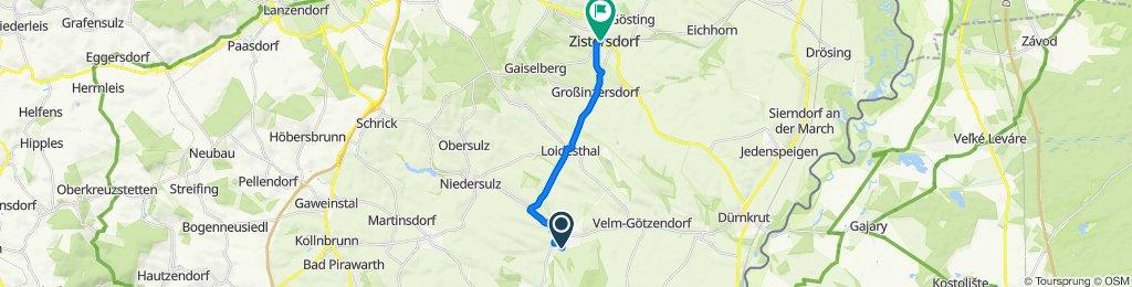 Am Hofstadl, Spannberg nach Kirchenplatz 23, Zistersdorf
