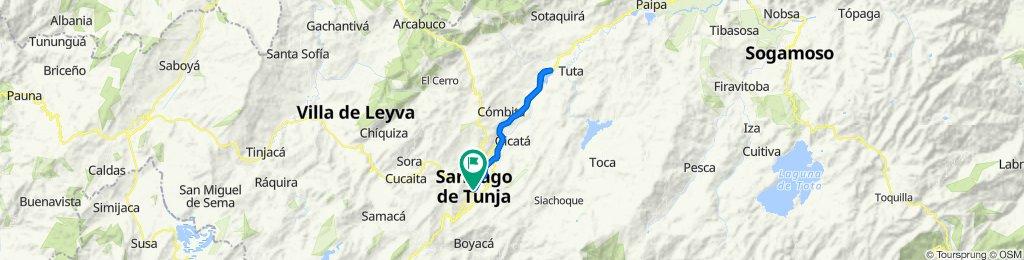 De Calle 14C 7A-100–7A-2, Tunja a Carrera 7A 14C-1–14C-99, Tunja