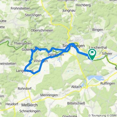 Tour um Sigmaringen ab Sigmaringendorf