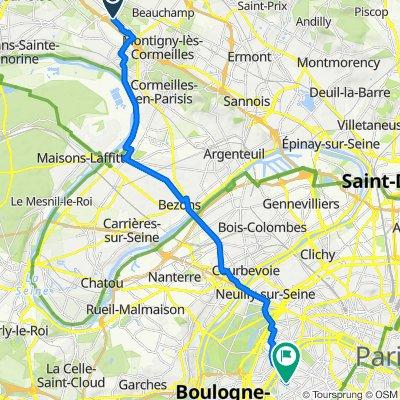 Itinéraire vers 86 Rue de Javel, Paris