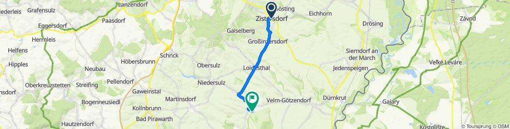 Dreifaltigkeitsgasse 2, Zistersdorf nach Am Hofstadl 35d, Spannberg