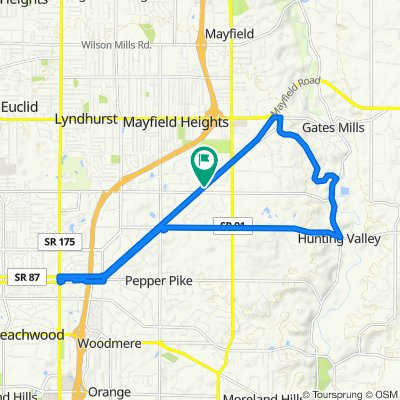 Potential chagrin river Berkshire route
