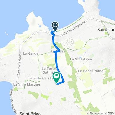 De Hameau du Golf, Saint-Briac-sur-Mer à 11 Rue de la Négrais, Saint-Briac-sur-Mer