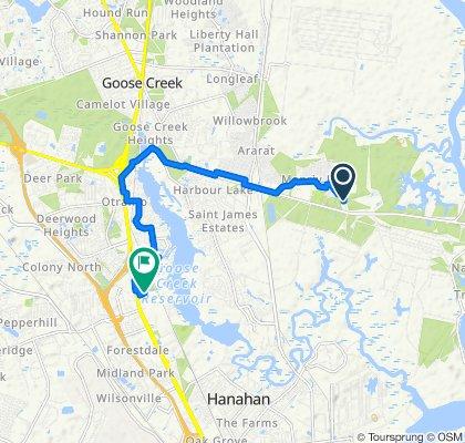 121 Fletcher St, Goose Creek to 7612 Rivers Ave, North Charleston