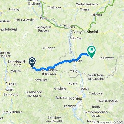 De Saint-Prix à Saint-Christophe-en-Brionnais