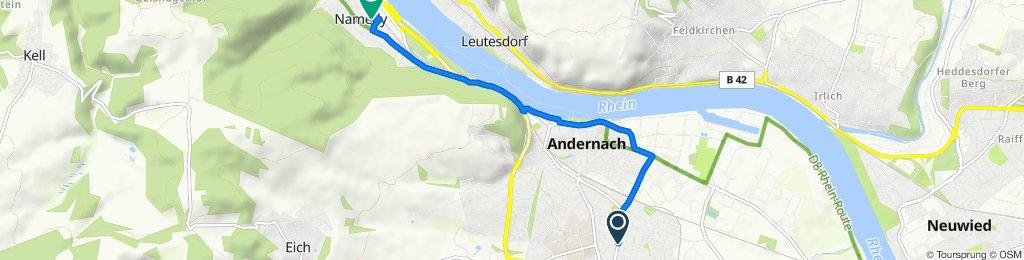 Sankt-Thomaser-Hohl 37, Andernach nach Mittelpfad 36C, Andernach