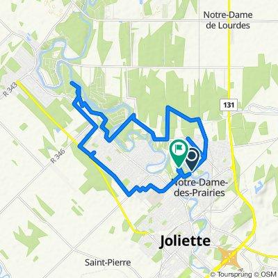 De 114 Av des Jonquilles, Notre-Dame-des-Prairies à 249 Ch du Golf, Saint-Charles-Borromée
