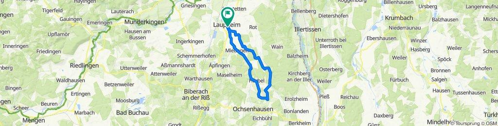 Rabenstraße 51, Laupheim nach Rabenstraße 51, Laupheim