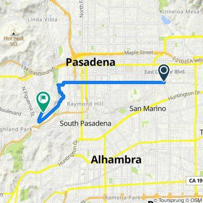 2705 Tura Ln, San Marino to 6515 Pollard St, Los Angeles