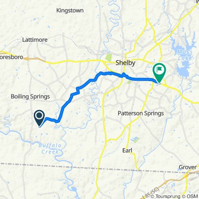 State Road 1147 1391, Shelby to East Dixon Boulevard 1875, Shelby