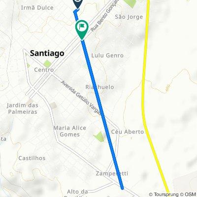 De Rua Marechal Deodoro 146 a Rua Bento Gonçalves 1099