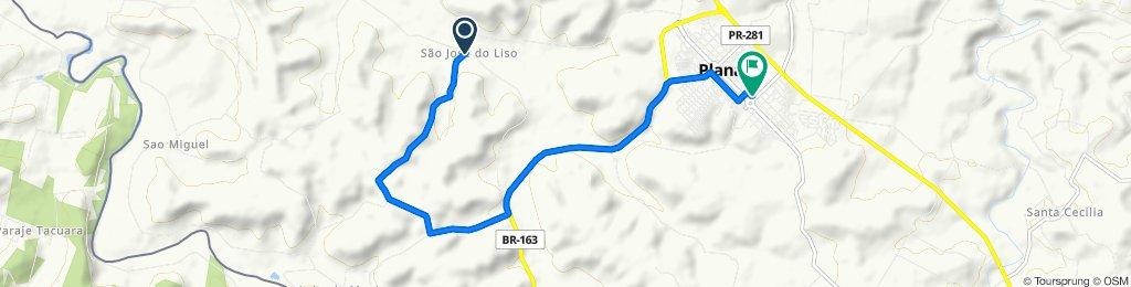 De Unnamed Road a Rua Paraná 908