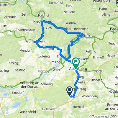 St-Johann-Kelheim-Riedenburg-Altmannstein-Abensberg