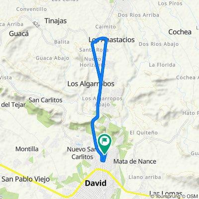 De Manzana 040601 20-42, David a Calle 10 10, David