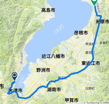 5, Otsu to Nagahama