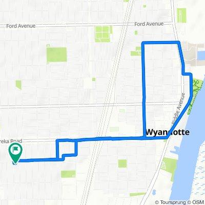 2050–2098 Pine St, Wyandotte to 3513 21st St, Wyandotte