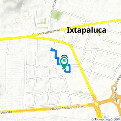 De Calle Calamos 204–216, Ixtapaluca a Calle Nibuno 65, Ixtapaluca