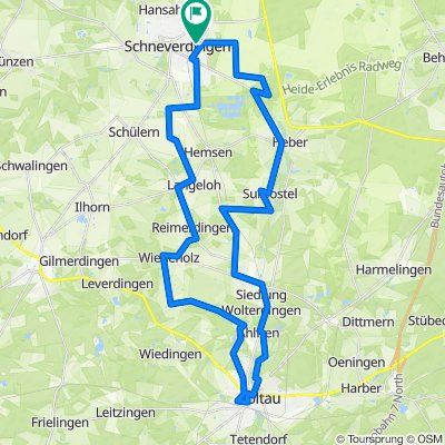 D - Schneverdingen - Soltau - Zurück - 46 km