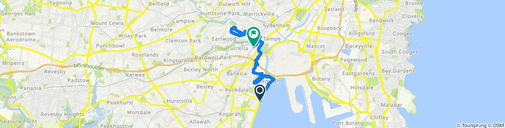 The Grand Parade, Brighton-Le-Sands to Spark Lane, Wolli Creek