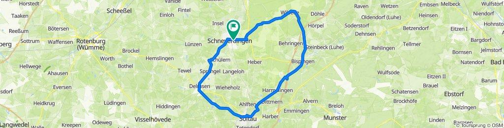 D - Schneverdingen - Große Heide-Tour - 66 km