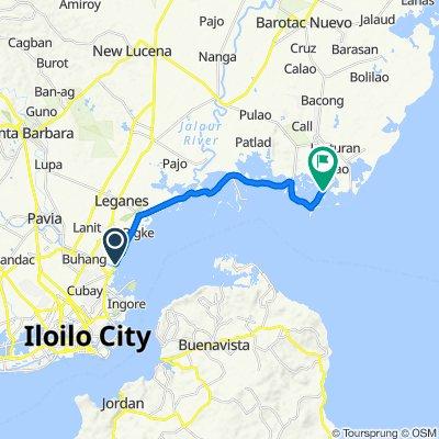 Dumangas-Iloilo, Iloilo City to Barotac Nuevo-Dumangas-Dacutan Wharf Road, Dumangas
