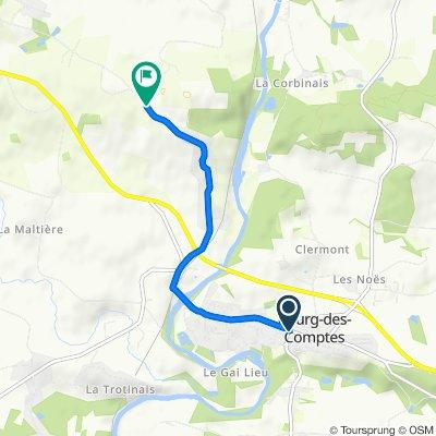 De 1 Rue de Pléchatel, Bourg-des-Comptes à 17 La Féroulais, Guichen
