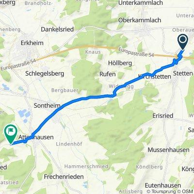 Haldenweg 6, Mindelheim nach Stephansrieder Straße 30A, Sontheim