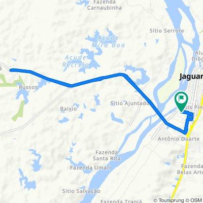 De Rua Gilmário M Teixeira, 362–432, Jaguaribe a Rua Gilmário M Teixeira, 362–432, Jaguaribe