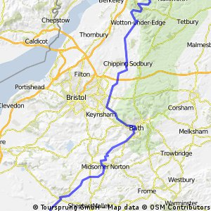 JOGLE AB  day 13   68 miles
