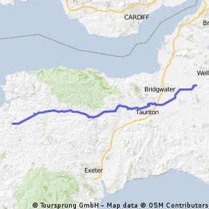 JOGLE AB day 14        77 miles