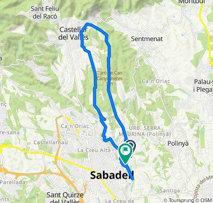 Sabadell - Castellar - Sabadell.