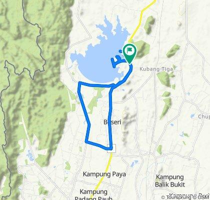 Jalan Kangar - Padang Besar, Beseri to Jalan Kangar - Padang Besar, Beseri