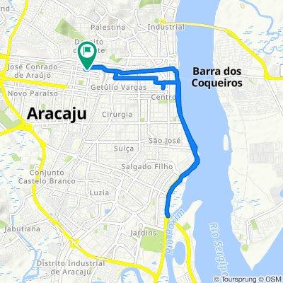 De Rua Oliveira, 1–68, Aracaju a Travessa Oliveira, 6, Aracaju