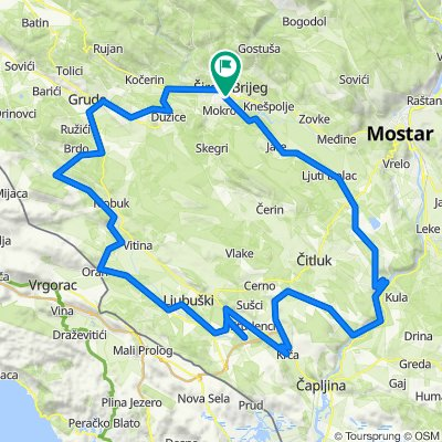 Upoznaj Hercegovinu: Franciskana A cestovna 11.10.2020.