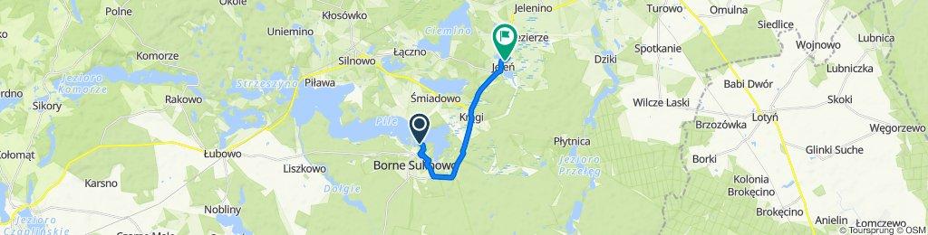 Jeziorna 9, Borne Sulinowo do Jeleń 27–31, Silnowo