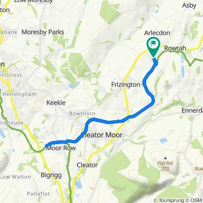 Braddan, Skelsceugh Road, Frizington to Braddan, Skelsceugh Road, Frizington
